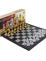 Недорогие -Настольные игры Шахматы Магнитный Выдвижной 1 pcs Мальчики Девочки Игрушки Подарок