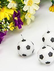 Недорогие -1 шт футбол футбол дизайн свеча для партии домой украшение партия предложение