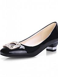 Недорогие -Жен. Обувь Синтетика Дерматин Полиуретан Весна Лето Удобная обувь Оригинальная обувь Босоножки Обувь на каблуках Для прогулок На низком