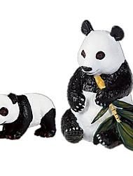 Недорогие -Медведи Панда Выставочные модели Животные моделирование Классический и неустаревающий Изысканный и современный Поликарбонат пластик Девочки Игрушки Подарок 1 pcs