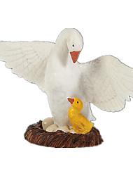 Недорогие -Птица Лебедь Выставочные модели Животные моделирование Классический и неустаревающий Изысканный и современный Поликарбонат пластик Девочки