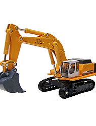 cheap -Pull Back Vehicles Truck Construction Vehicle Dozer Excavator Toys Novelty Truck Excavating Machinery Metal Alloy Metal Classic & Timeless