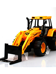 cheap -Pull Back Vehicles Pull Back Car/Inertia Car Construction Vehicle Crane Forklift Toys Novelty Forklift Toys Plastic Metal Pieces Boys'