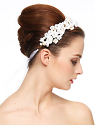 baratos -pulseira de cristal de resina headpiece estilo feminino clássico