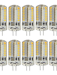 preiswerte -10 Stück 3W 260lm G4 LED Doppel-Pin Leuchten T 64 LED-Perlen SMD 3014 Dekorativ Warmes Weiß Kühles Weiß 220V 85-265V