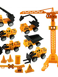 cheap -Pull Back Vehicles Forklift ABS Children's Day
