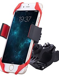 cheap -Bike Phone Mount Portable, Durable, Adjustable Recreational Cycling / Cycling / Bike / Folding Bike ABS / Rubber Red - 1pcs