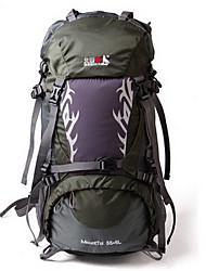 45 L Rucksack tragbar Schwarz Purpur