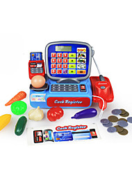 cheap -Grocery Shopping Money & Banking Pretend Play Cash Register Toy Toys Toys Fruit Novelty Simulation Plastic Boys' Girls' Pieces