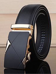 cheap -Men's Party/Evening Causal Groom/Groomsman Cowhide Waist Belt Alloy