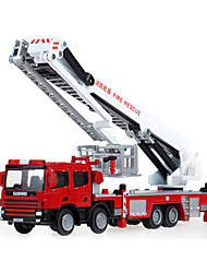 Toy Cars Toys Fire Engine Vehicle Retractable Truck ABS Plastic Metal Kids' Boys' Christmas Birthday Children's Day Gift Action & Toy