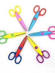Недорогие -12 Резка бумаги Ножницы Игрушки Игрушки V Друзья Своими руками пластик Металл Детские 1 Куски