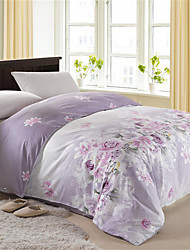 Duvet Cover Floral 1 Piece Cotton Reactive Print Cotton 1pc Duvet Cover