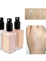 cheap -Foundation Wet Cream Coloured gloss Coverage Long Lasting Concealer Natural Eye Face