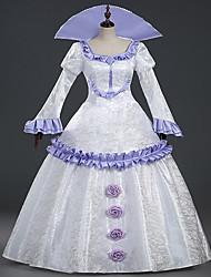 Gothique Lolita Classique/Traditionnelle Princesse Dentelle Femme Une Pièce Robes Cosplay Manches Longues