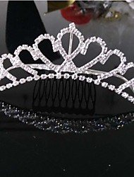 cheap -Girls Lovely Fashionable Europe And The United States Han Edition Big Diamond Crown Princess Hair Comb
