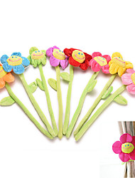 1Pcs   Curtain Clasps Clip Buckle Flexible Curtain Tieback Holdback Holder Cute Cartoon Flower