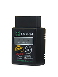 cheap -16pin Male to one Female OBD-II ELM327 No ISO9141-2 Vehicle Diagnostic Scanners