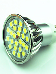 cheap -4W 350lm GU10 LED Spotlight MR16 24 LED Beads SMD 5050 Dimmable Warm White Cold White 220V 85-265V