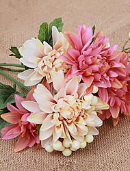 Недорогие -1 ветка шелковые маргаритки настольный цветок искусственные цветы домашнее украшение