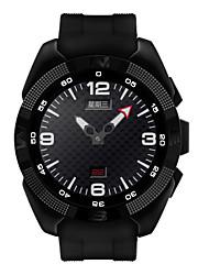 1.2inch intelligente orologio mtk2502 frequenza cardiaca SmartWatch macchina fotografica del monitor di fitness chiamata inseguitore sms