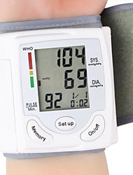 Health Care Wrist Portable Digital Automatic Blood Pressure Monitor