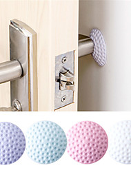 cheap -After Wall Thickening Mute Door Fenders Golf Modelling Rubber Handle Door Lock Protective Pad Protection Wall Stick