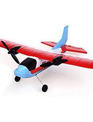 Недорогие -Планер RC Самолет на радиоуправлении Красный Требуется некоторая сборка Пульт Yправления Летательный Aппарат Руководство пользователя