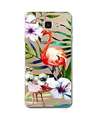 preiswerte -Hülle Für Samsung Galaxy Ultra dünn / Muster Rückseite Blume Weich TPU für A7(2016) / A5(2016)
