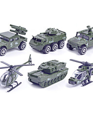 Fahrzeug-Spiele nach Themen Spielzeugautos Militärfahrzeuge Polizeiauto Spielzeuge Auto Helikopter Metalllegierung Metal Klassisch &