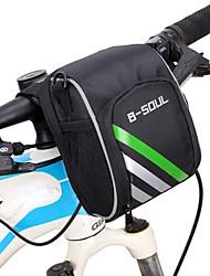 B-SOUL® Bolsa de BicicletaBolsa para Guidão de Bicicleta Vestível Bolsa de Bicicleta Oxford Bolsa de Ciclismo Ciclismo 15.5*11*9