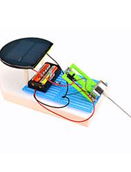 Giocattoli a energia solare Kit fai-da-te Giocattoli Auto Nave Novità Ad energia solare Fai da te Da ragazzo Pezzi