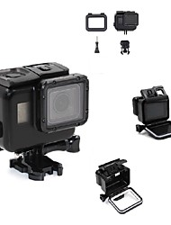 cheap -Waterproof Housing Case For Action Camera Gopro 5 SkyDiving Rock Climbing Surfing/SUP Travel Ski/Snowboarding Bike/Cycling