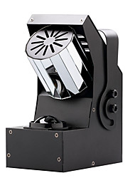 u'king® 30W 4 in 1 geführt RGBW Walzenstufe Effektbeleuchtung mit 8 seitigen Drehprisma 7CH 1pcs