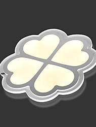 Four Leaf Clover LED Acrylic Absorb Dome Light Dimmable Acrylic LED Ceiling Lights  Remote Control