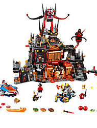 cheap -Knights of the future building blocks assembled nest