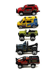 cheap -Race Car Toy Truck Construction Vehicle Toy Car Vehicle Playsets Die-Cast Vehicles 1:64 Metal Alloy Plastic Metal 1pcs Girls' Boys' Kid's