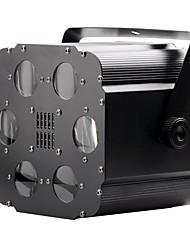 U'King® 15W Square 6 LEDs RGB 6CH Stage Effect Bubble Light DMX512 Voice Control Modes 1pcs
