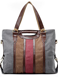 Unisex Bags All Seasons Canvas Shoulder Bag for Casual Sports Outdoor Office & Career Professioanl Use Gray Coffee Khaki