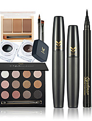 cheap -Shadow Mascara Eyeliner Eyebrow Makeup Brushes Dry Wet Eyes