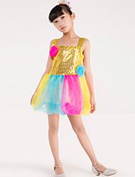 Devons-nous faire de la danse de ballet enfants enfants épilation de fleurs 1 pièce de costume