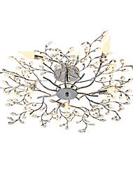 cheap -Modern/Contemporary Mini Style Designers Chandelier Ambient Light For Living Room Bedroom Dining Room Study Room/Office Kids Room