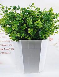 Недорогие -симуляция деньги лист пластиковые лужайки искусственные растения для украшения гостиной