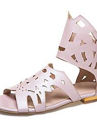 Da donna Sandali Club Shoes Alla schiava Finta pelle Primavera Estate Autunno Casual Serata e festa Formale Club Shoes Alla schiava