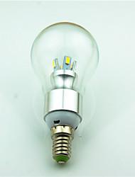 cheap -1pc 3.5W 350 lm E14 LED Globe Bulbs 8 leds SMD 5730 Decorative Warm White 2800K AC220 AC 85-265V