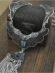 Necklace Pendant Necklaces Jewelry Halloween Birthday Party Daily Gifts Dangling Style Alloy Women 1pc Gift Silver