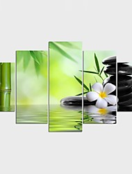 Landscape Style Modern,Five Panels Canvas Any Shape Print Wall Decor For Home Decoration