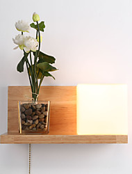 cheap -Country Wall Lamps & Sconces For Wood/Bamboo Wall Light 110-120V 220-240V 60W