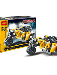 cheap -Building Blocks For Gift  Building Blocks Model & Building Toy Motorcycle Plastic 5 to 7 Years 8 to 13 Years 14 Years & Up Yellow Toys