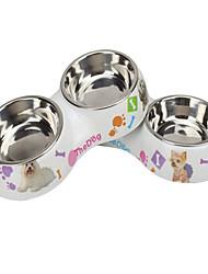 Katze Hund Schalen & Wasser Flaschen Haustiere Schüsseln & Füttern Wasserdicht Regenbogen